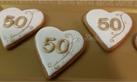 Happy50thBirthday Cookies