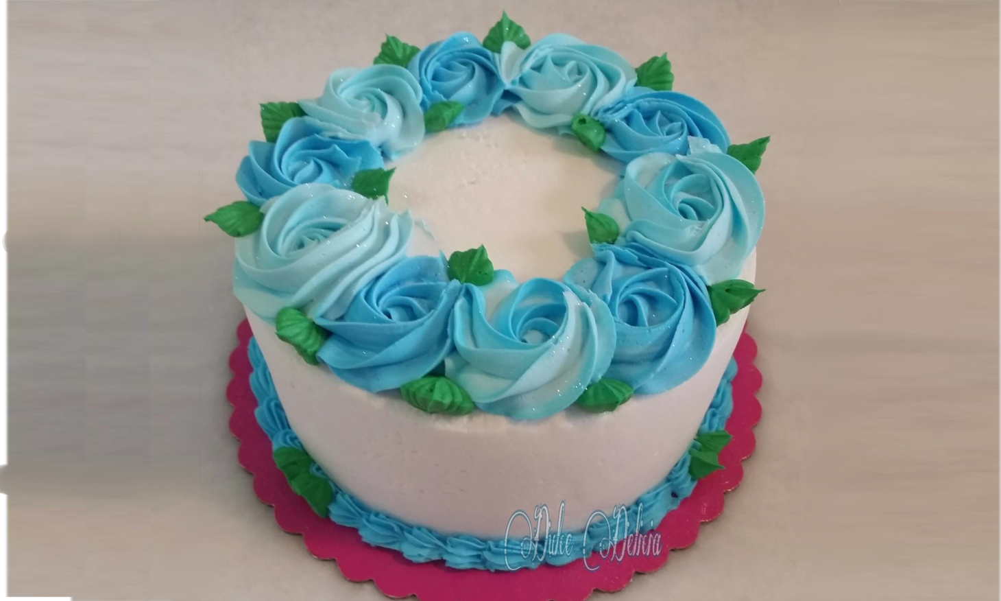 BlueFlowers_Cake
